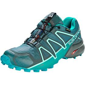Salomon W's Speedcross 4 GTX Shoes Balsam Green/Tropical Green/Beach Glass